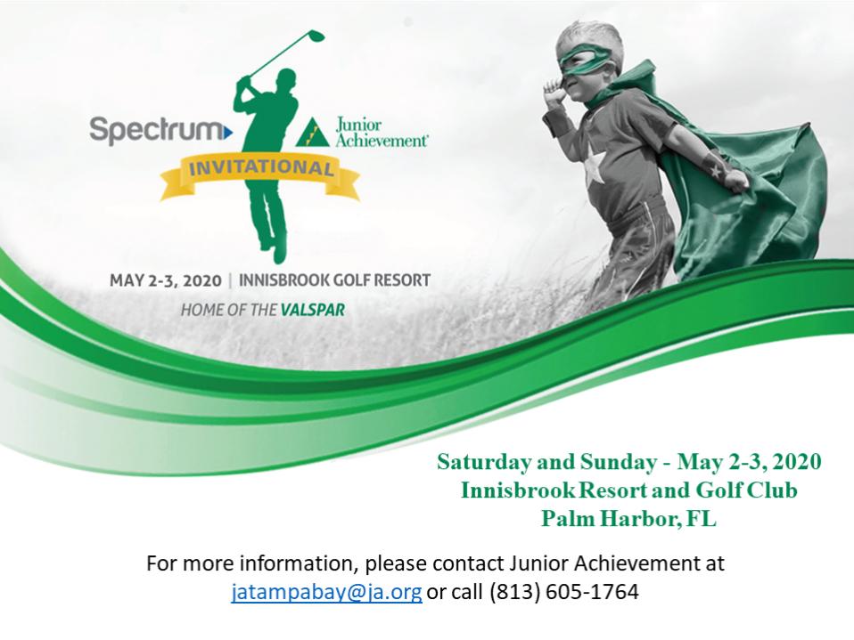 Spectrum Tampa Fl >> Spectrum Junior Achievement Invitational Junior Achievement Of